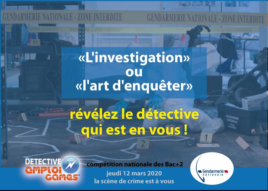 Detective Emploi Games 2019 - Team Games